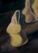 Osterhase vanilleblond / Öl auf MDF / 120x87cm / 2004