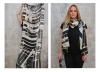 by Helga Gasser_for VIDA/San Francisco_Modal Scarf_Design Black Tangle