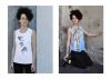by Helga Gasser_for VIDA/San Francisco_Design Dancing Birds and Greece_Model Nadia
